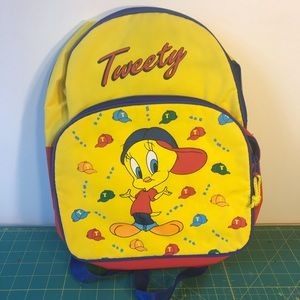 Handbags - HOLD 90s Hip Hop Tweety Club Kid Rave Backpack